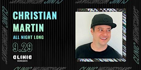 Clinic with Christian Martin (Dirtybird) • All Night Long tickets