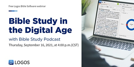 Bible Study in the Digital Age with Bible Study Podcast tickets