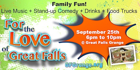For the Love of Great Falls - Opening Night at The Grange tickets