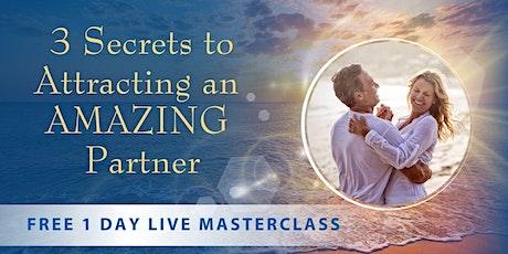 3 Secrets to Attracting an Amazing Partner boletos