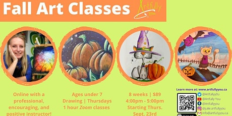 Kids Fall Art Classes (ages under 7s) tickets