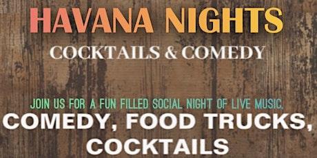 Havana nights: Comedy & Cocktails tickets
