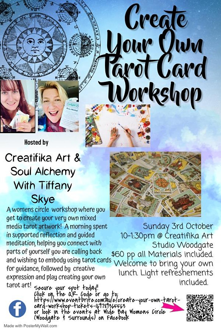 Create Your Own Tarot Card Workshop image