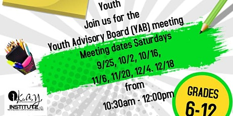 OKAY Institute Youth Advisory Board Meeting tickets
