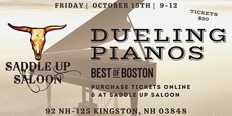 Dueling Piano Night at Saddle Up Saloon tickets