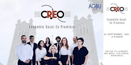 CREO Vocal Ensemble DEBUT tickets