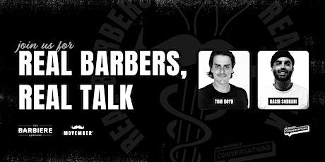 Real Barbers, Real Talk - Movember x The Barbiere Company biglietti