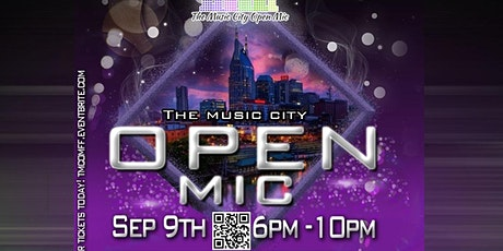 The Music City Open Mic  Showcase September 7th tickets