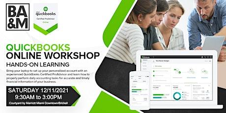 QuickBooks Online Workshop tickets