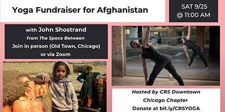Yoga Fundraiser in support of Afghanistan tickets