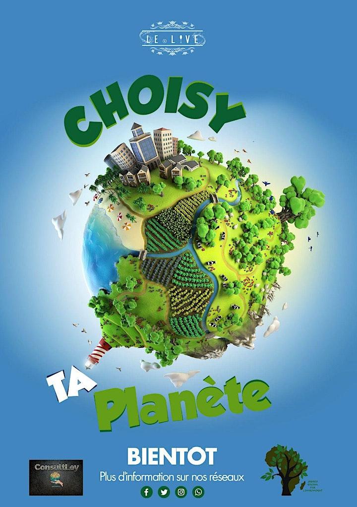 Image pour CHOISY TA PLANETE édition 2