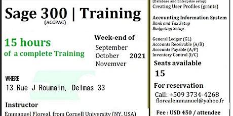 Sage 300 Training billets