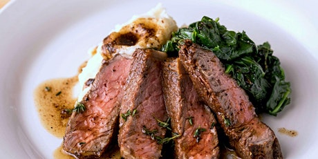 Gourmet American Steakhouse - Cooking Class by Cozymeal™ tickets