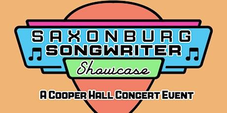 Saxonburg Songwriter Showcase - A Cooper Hall Concert Event tickets