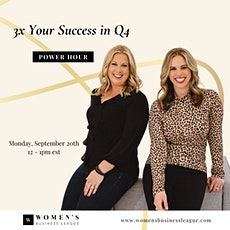Power Hour: 3x Your Success in Q4 tickets