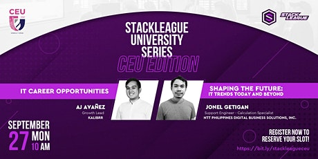StackLeague University Series: CEU Edition tickets