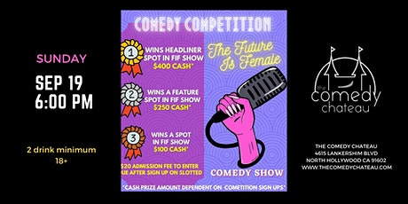 FIF Comedy Competition Finals at the Comedy Chateau tickets