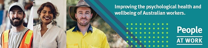 People at Work–Australia's free validated psychosocial risk assessment tool image