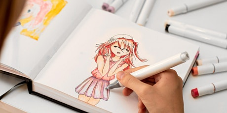 Manga Drawing Workshop with Queenie Chan tickets