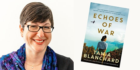 Library online author event with Tania Blanchard, Echoes of War tickets