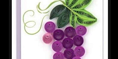 Paper Quilling Workshop - Grape Vine in a Shadow B tickets