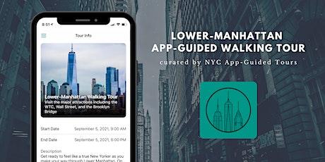 Lower-Manhattan App-Guided Tour tickets