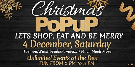 Divas in Power Christmas Shopping Pop Up tickets