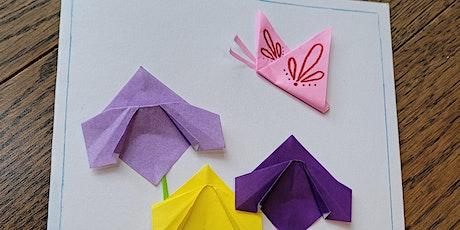 Origami Iris Flower & Butterfly (Fun Kids Paper Folding Craft Workshop) tickets
