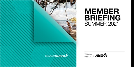 Member Briefing  Summer 2021- Whanganui tickets