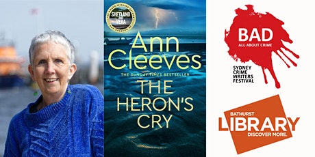 Ann Cleeves: Bathurst Library and BAD September International Free Pass tickets