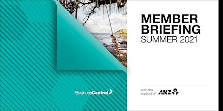 Member Briefing  Summer 2021- Masterton tickets