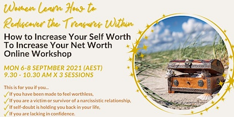 Women Learn How to Increase Your Self Worth to Increase Your Net Worth tickets