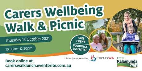 Carers Wellbeing Walk and Free Picnic Lunch tickets