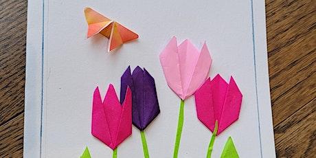 Origami Tulip Flower & Butterfly (Fun Kids Paper Folding Craft Workshop) tickets