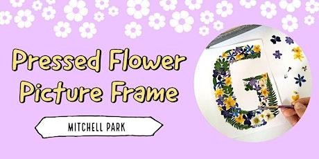 Pressed Flower Picture Frame |  Mitchell Park tickets