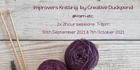 Improvers Knitting  Workshop tickets