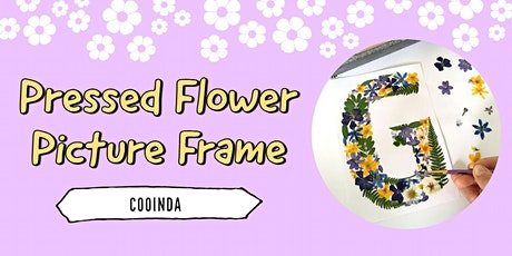 Pressed Flower Picture Frame | Cooinda tickets