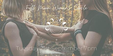 Full Moon Women's Circle September tickets