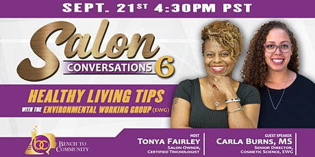 Salon Conversations Episode 6 with Tonya Fairley and Carla Burns tickets