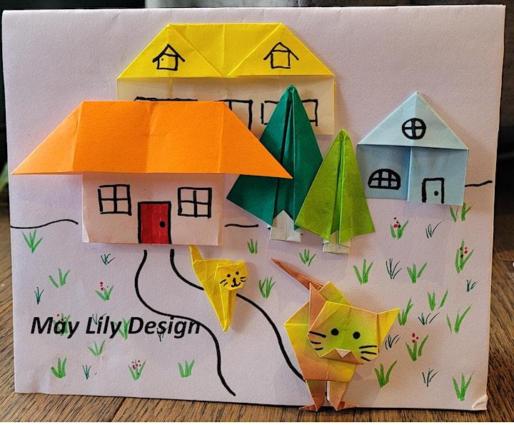 Origami Cat 1 (Teens/Adults Paper Folding Craft Workshop) image