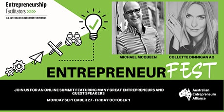EntrepreneurFEST 2021 - Launch & Keynote Michael McQueen tickets