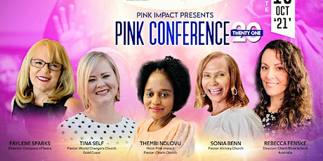 Pink Conference . This is a gathering of women , fellowshipping Jesus tickets