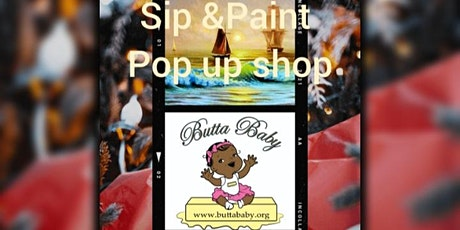 Sip & Paint, Shop &  Watch . Sip & paint with  stylish Vendors & live music tickets