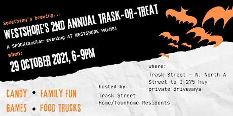 WESTSHORE'S 2ND ANNUAL TRASK-OR-TREAT tickets