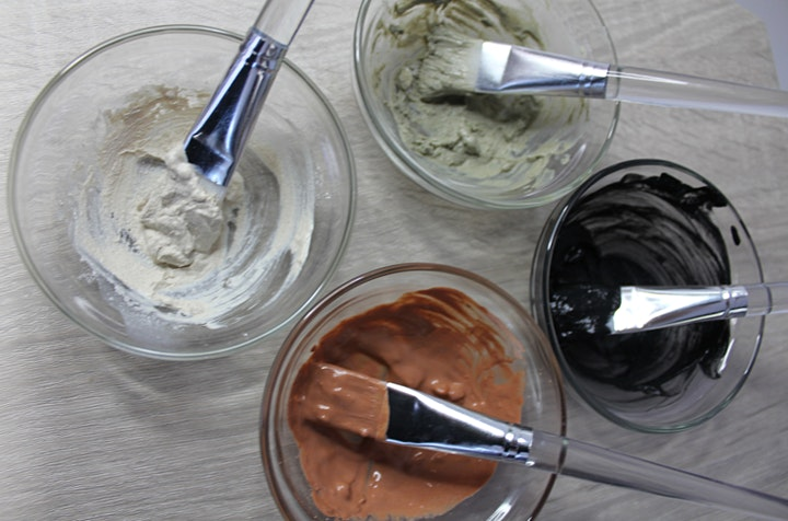 Create & Sip: Nourishing Clay Face Mask image