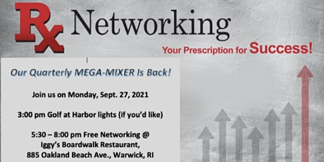 Referral Xchange Networking Quarterly Mega-Mixer (and Golf) Is Back! tickets