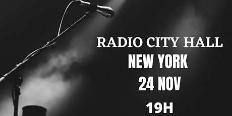 APASIONADO TOUR NEW YORK /RADIO CITY HALL entradas
