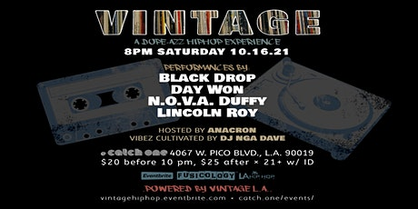 VINTAGE: A DOPE AZZ HIP HOP EXPERIENCE tickets