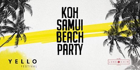 Koh Samui Beach Party tickets