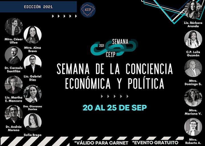 Imagen de Semana de la Conciencia Económica y Política (CEyP)